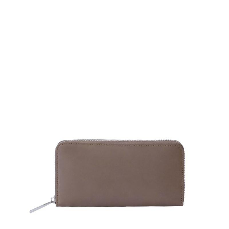 Goodforall bv Women hunter taupe MY WALLET Large sustainable fashion ethical fashion