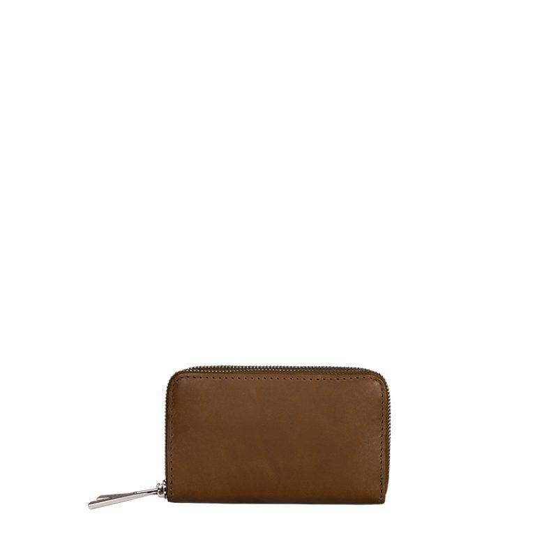 Goodforall bv Women Medium Wallet in Leather and Recycled PET. sustainable fashion ethical fashion