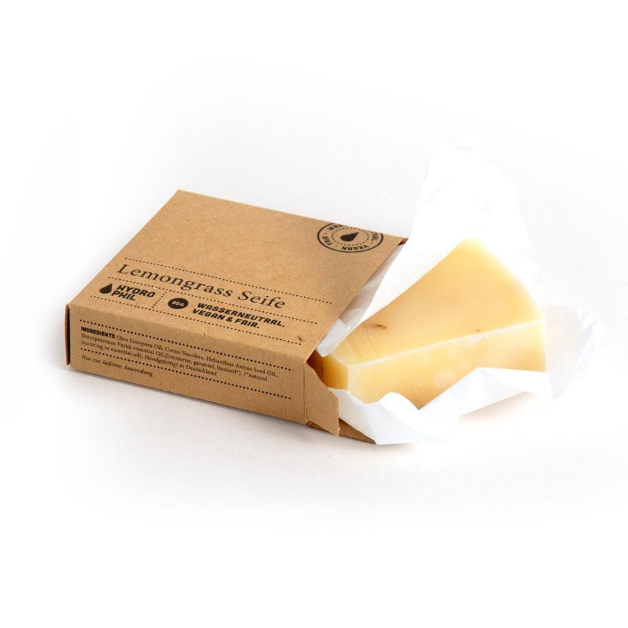 HYDROPHIL accessory Lemongrass Soap in Organic Raw Materials and Natural Oils. sustainable fashion ethical fashion