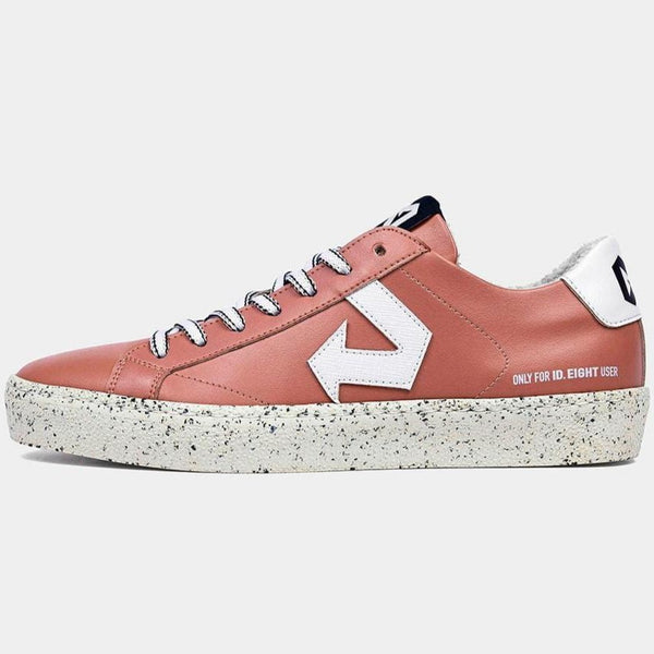 Duri Pink Sneakers aus Upcycled Apple Leather und recycelten Materialien.