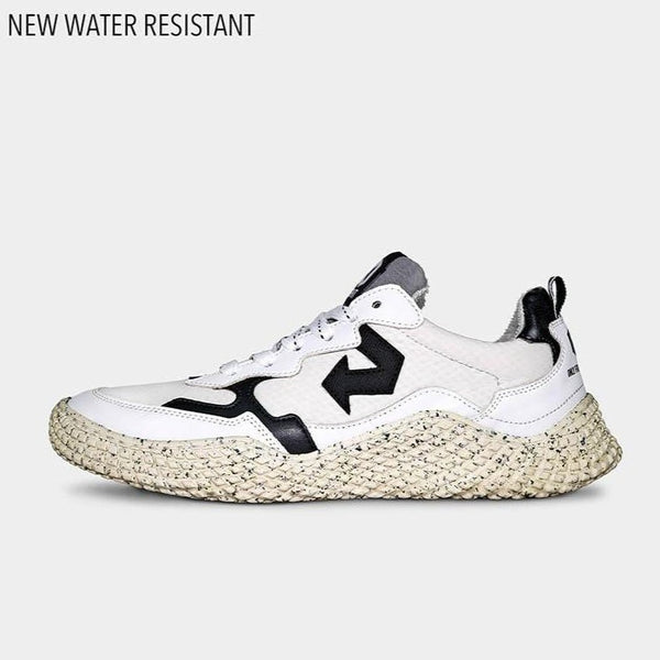 ID LAB S.r.L. shoes Hana White Ultra Drop Sneakers in Upcycled Apple Leather and Recycled Materials. sustainable fashion ethical fashion