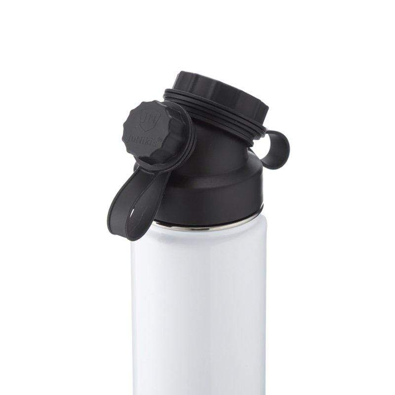 JuNiki´s accessory Insulated Stainless Steel Flask - 18oz - White sustainable fashion ethical fashion