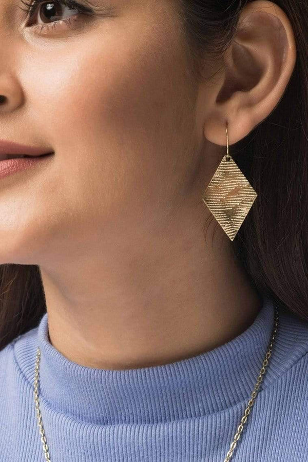 KOMODO accessory Heera Earrings. Brass. sustainable fashion ethical fashion