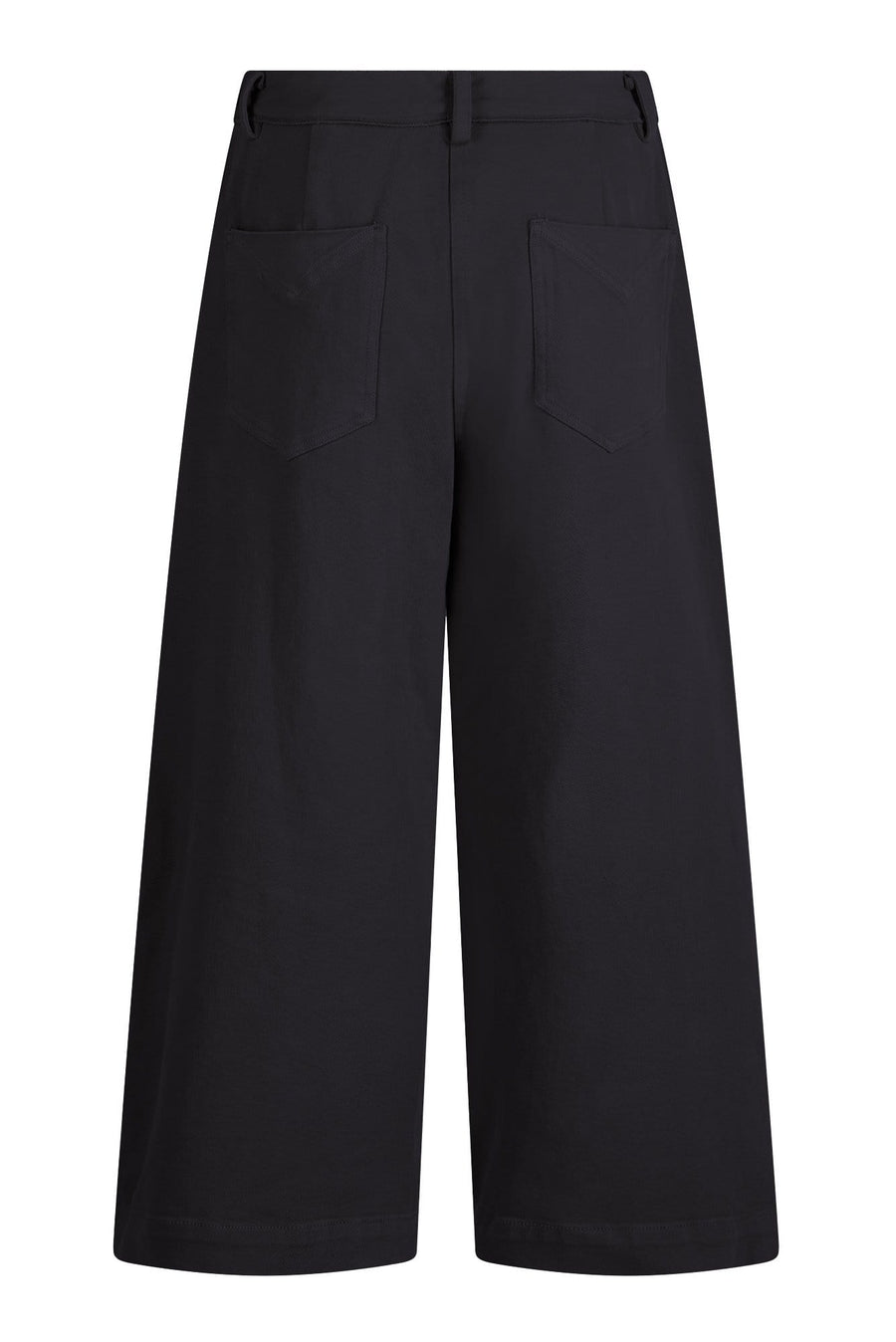 KOMODO Culottes HOLY COW Organic Cotton Culottes Coal sustainable fashion ethical fashion