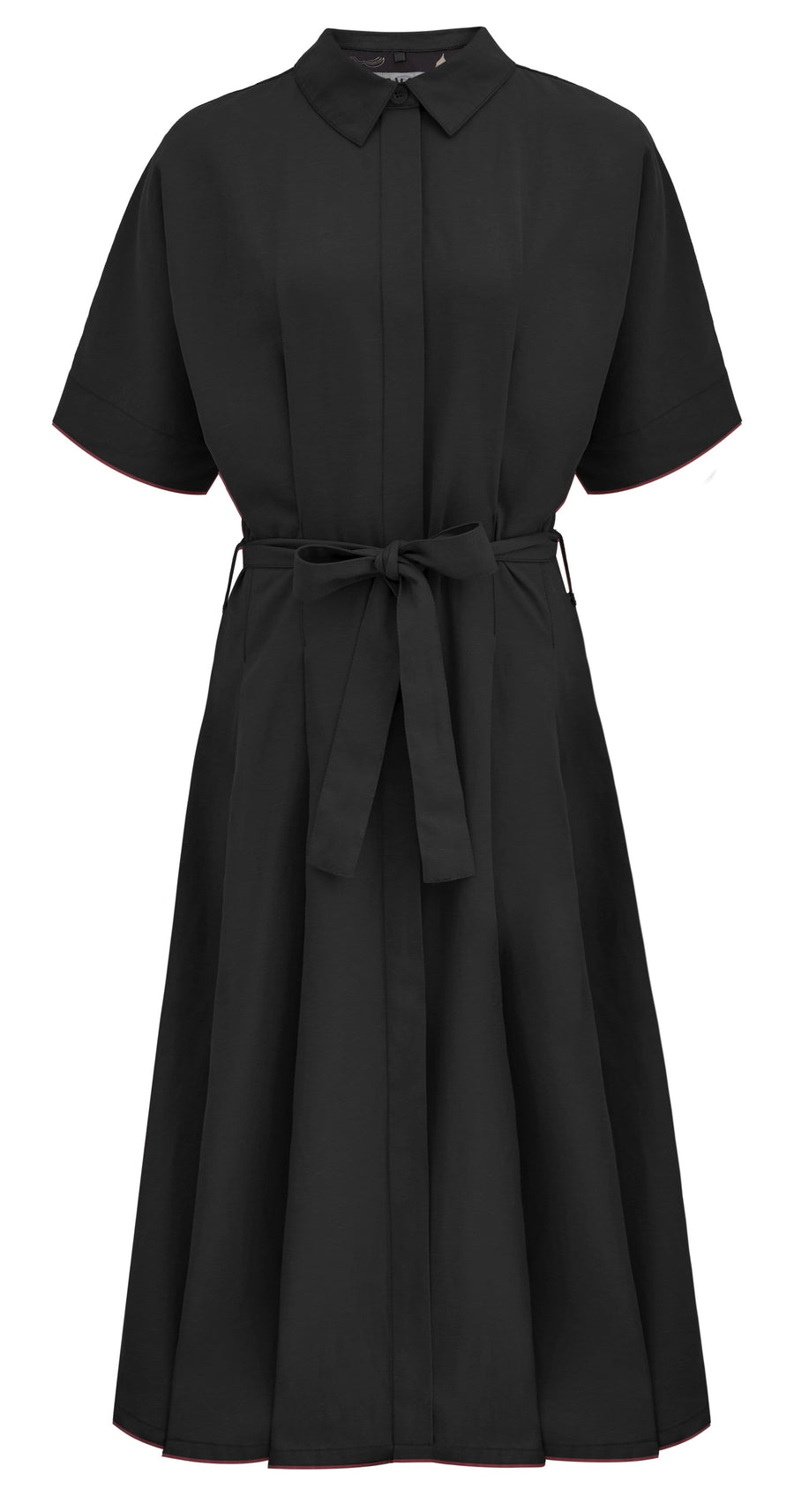 The Yakit Rakit Ltd dresses ASHES KIMONO Wrap Dress in Tencel. sustainable fashion ethical fashion