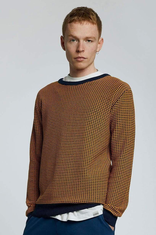 KOMODO Jumper HASAN - GOTS Organic Cotton Jumper Gold sustainable fashion ethical fashion