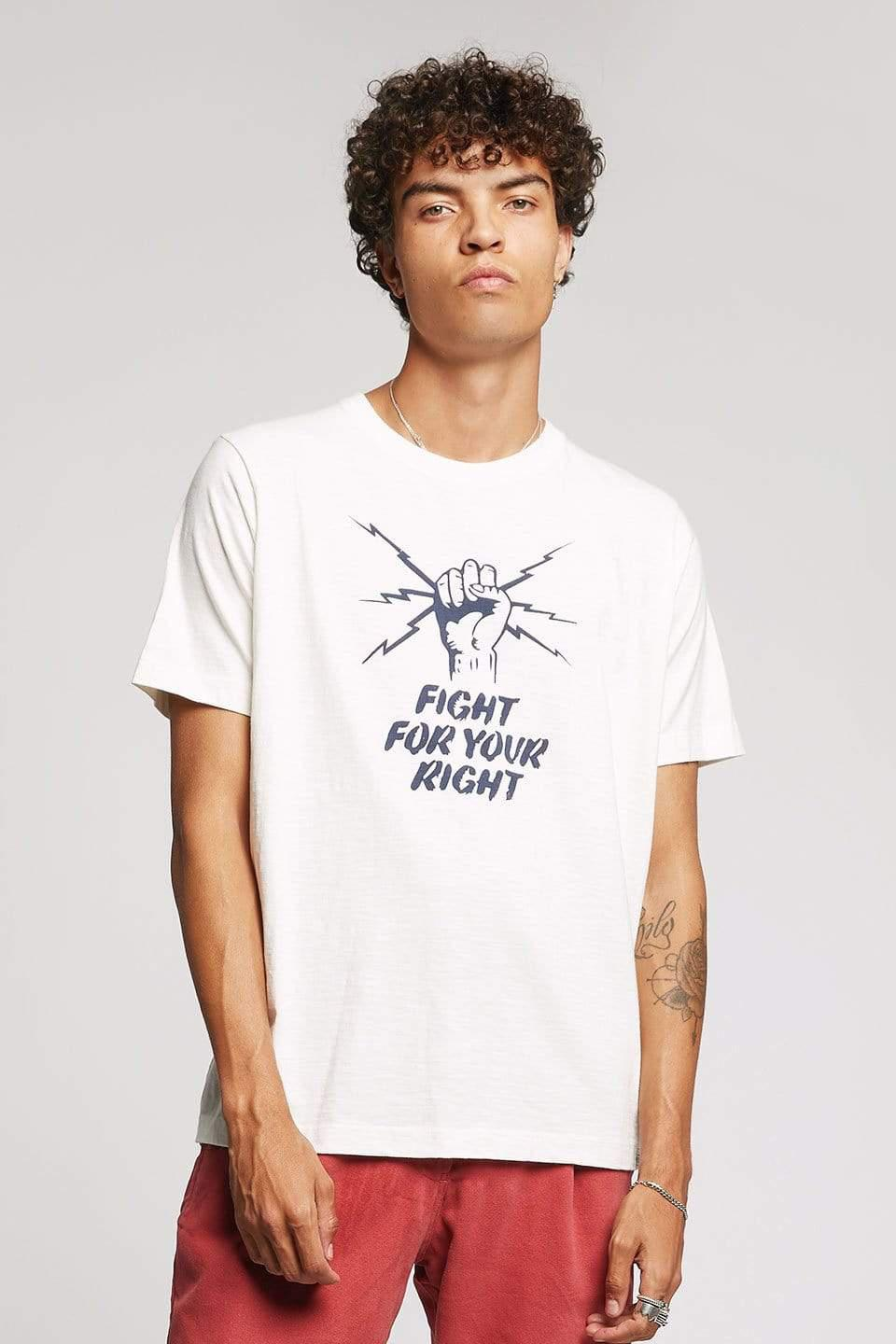 KOMODO T-Shirt PROTEST Organic Cotton Tee Off White sustainable fashion ethical fashion