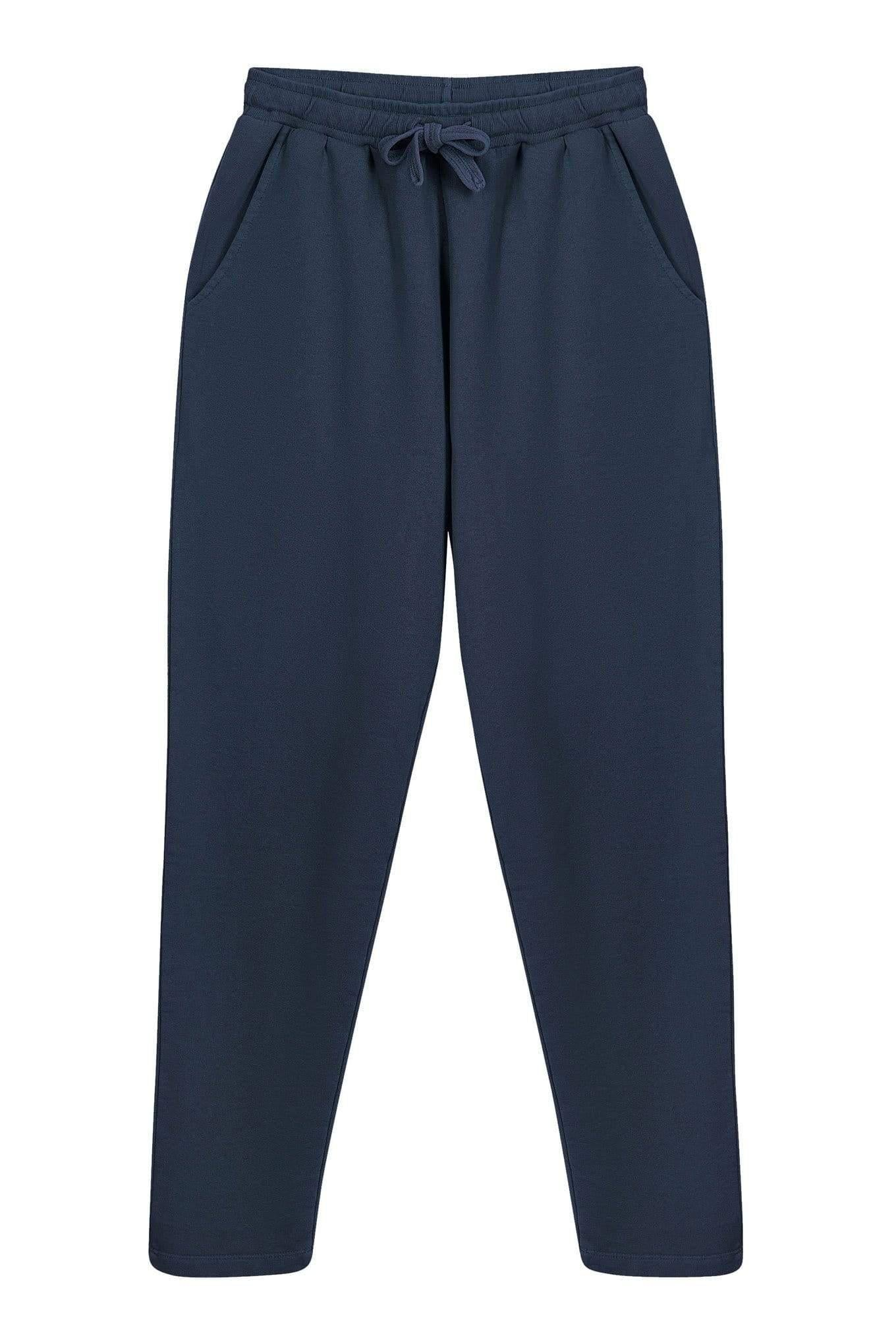 KOMODO Trousers OLYMPIA Mens - GOTS Organic Cotton Jogger Navy sustainable fashion ethical fashion