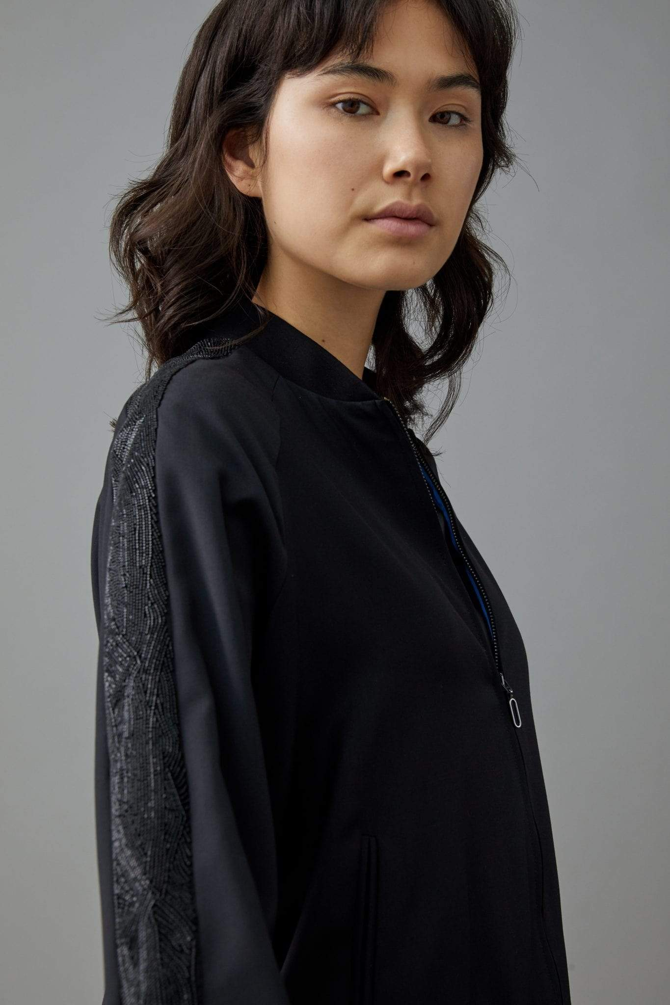 Manakaa Project jacket Jacket in Virgin Wool. sustainable fashion ethical fashion