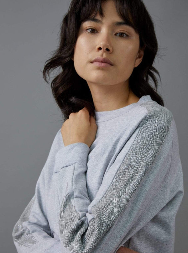 Manakaa Project UG sweaters Grey Sweater in Organic Cotton. sustainable fashion ethical fashion