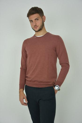 Marja Moda Maglierie srl. sweaters Men's Sweater in Organic Wool. sustainable fashion ethical fashion