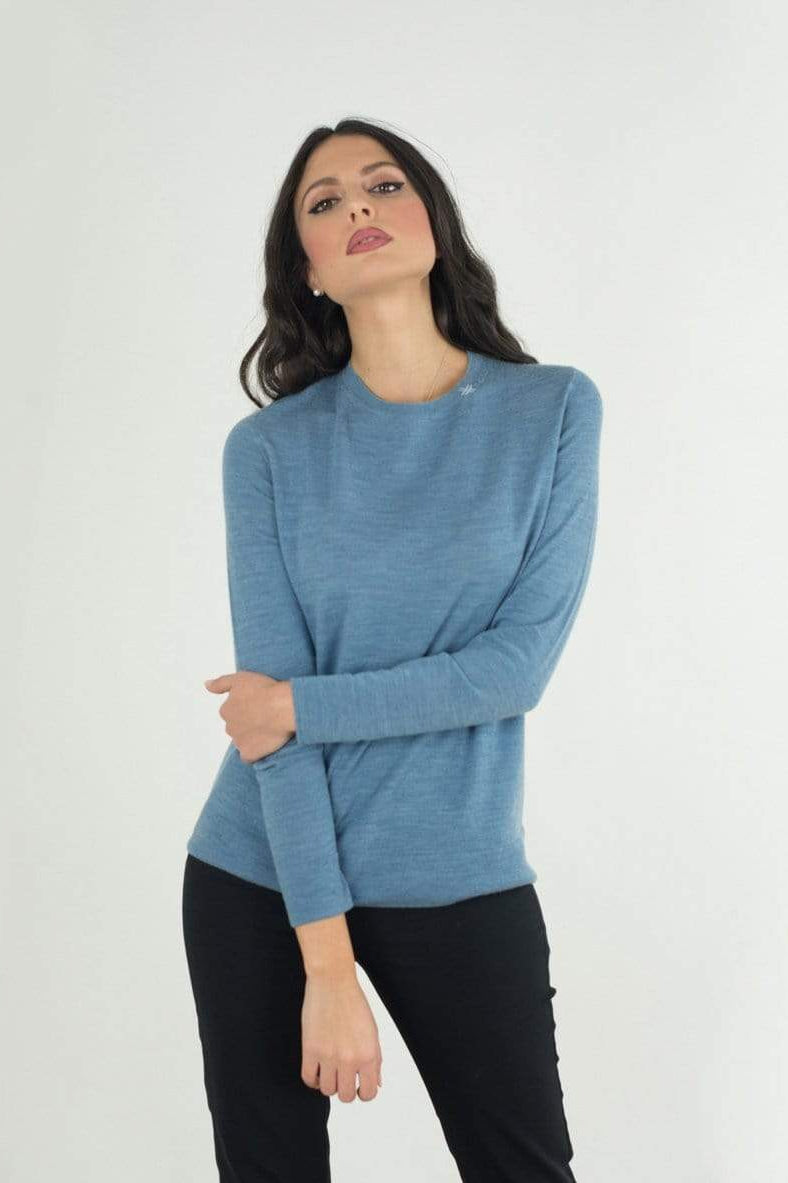 Marja Moda Maglierie srl. sweaters Women's Sweater in Organic Wool. sustainable fashion ethical fashion