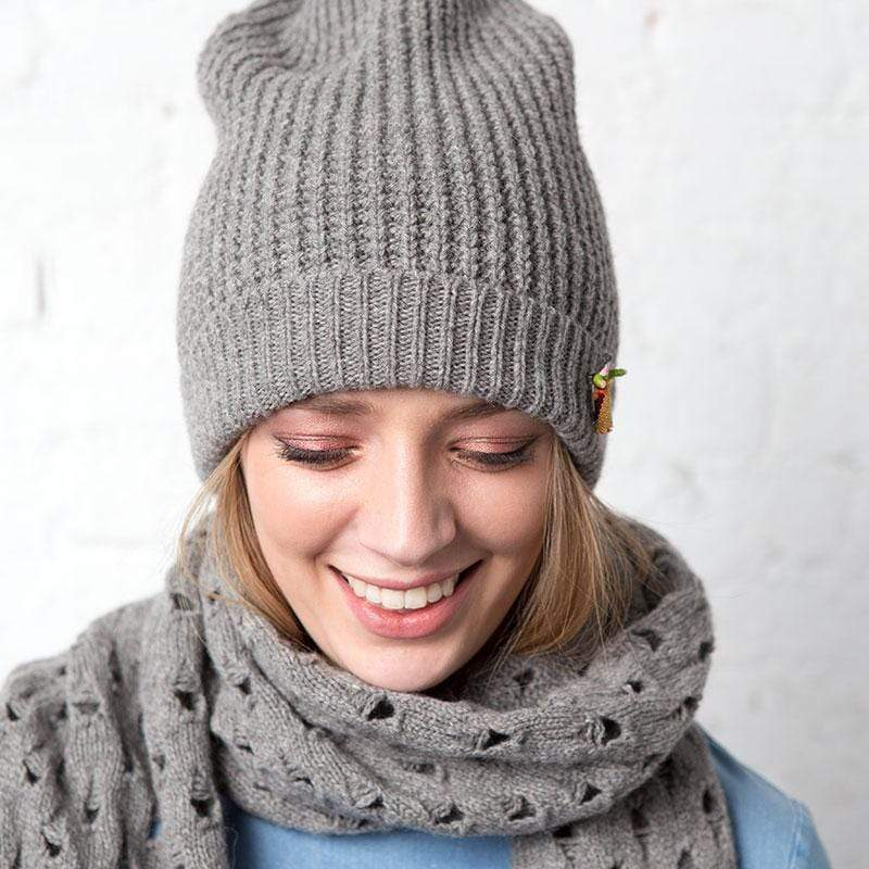 meinfrollein accessory Ladies Beanie Hat Anna. Baby Yak and Alpaca. sustainable fashion ethical fashion