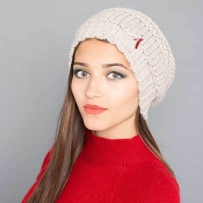 meinfrollein accessory Ladies Beanie Hat Greta. Wool and Alpaca. sustainable fashion ethical fashion