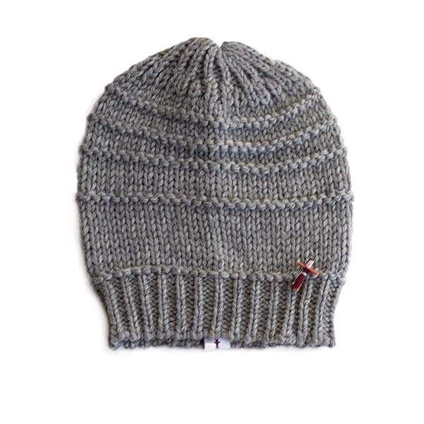 meinfrollein hats Bio Beanie Mütze GRETA, Grau sustainable fashion ethical fashion