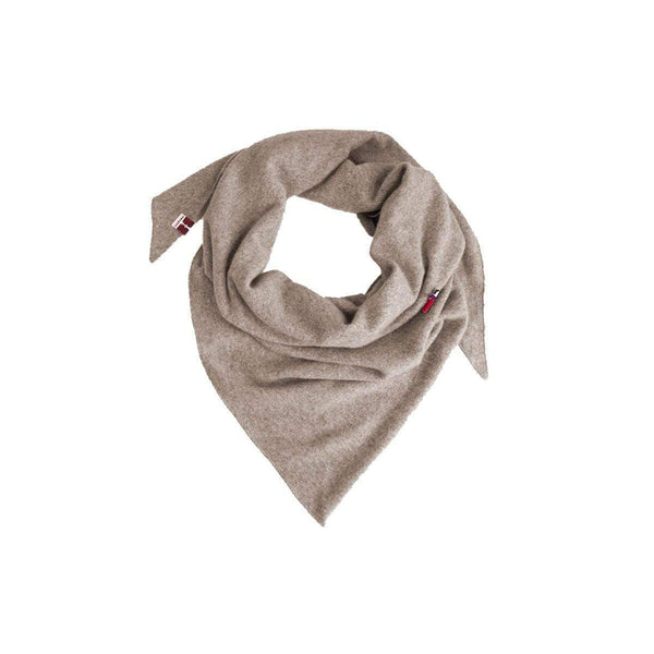 meinfrollein Tücher Kaschmir Triangle Dreieckstuch, Cream Beige sustainable fashion ethical fashion