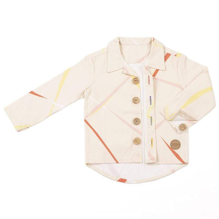 MimOOkids Top Shirt Close-Me cotone riciclato Limited Edition Cirrus moda sostenibile moda etica
