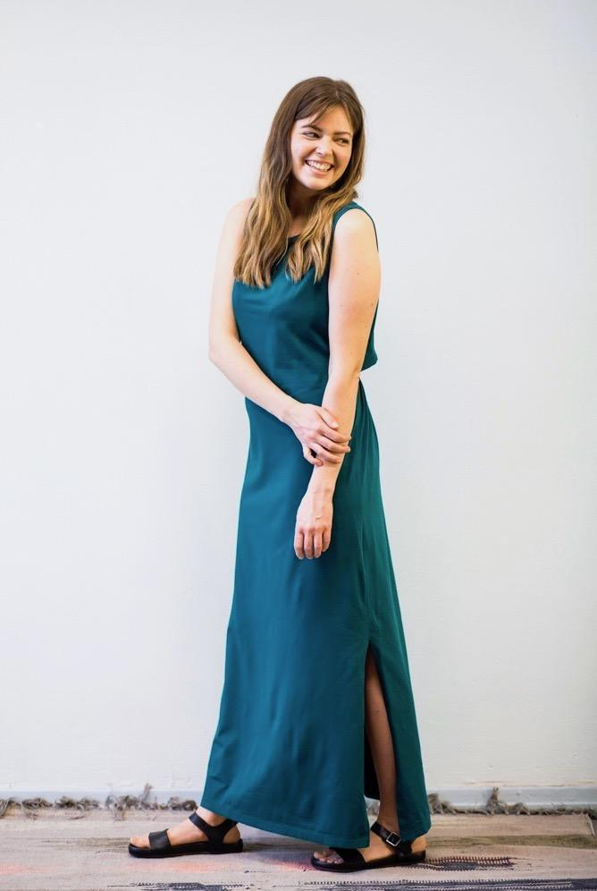 Mori Collective dress Ariel Maxi Dress. Organic Cotton. sustainable fashion ethical fashion