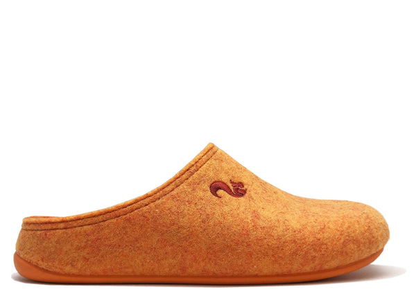 NAT 2 footwear thies 1856 ® Chaussons en PET recyclé vegan orange (W / M) mode durable mode éthique