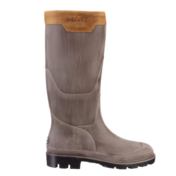 NAT 2 shoe nat-2™ Rugged Prime Bully grey brown (M) | 100% waterproof rainboots sustainable fashion ethical fashion