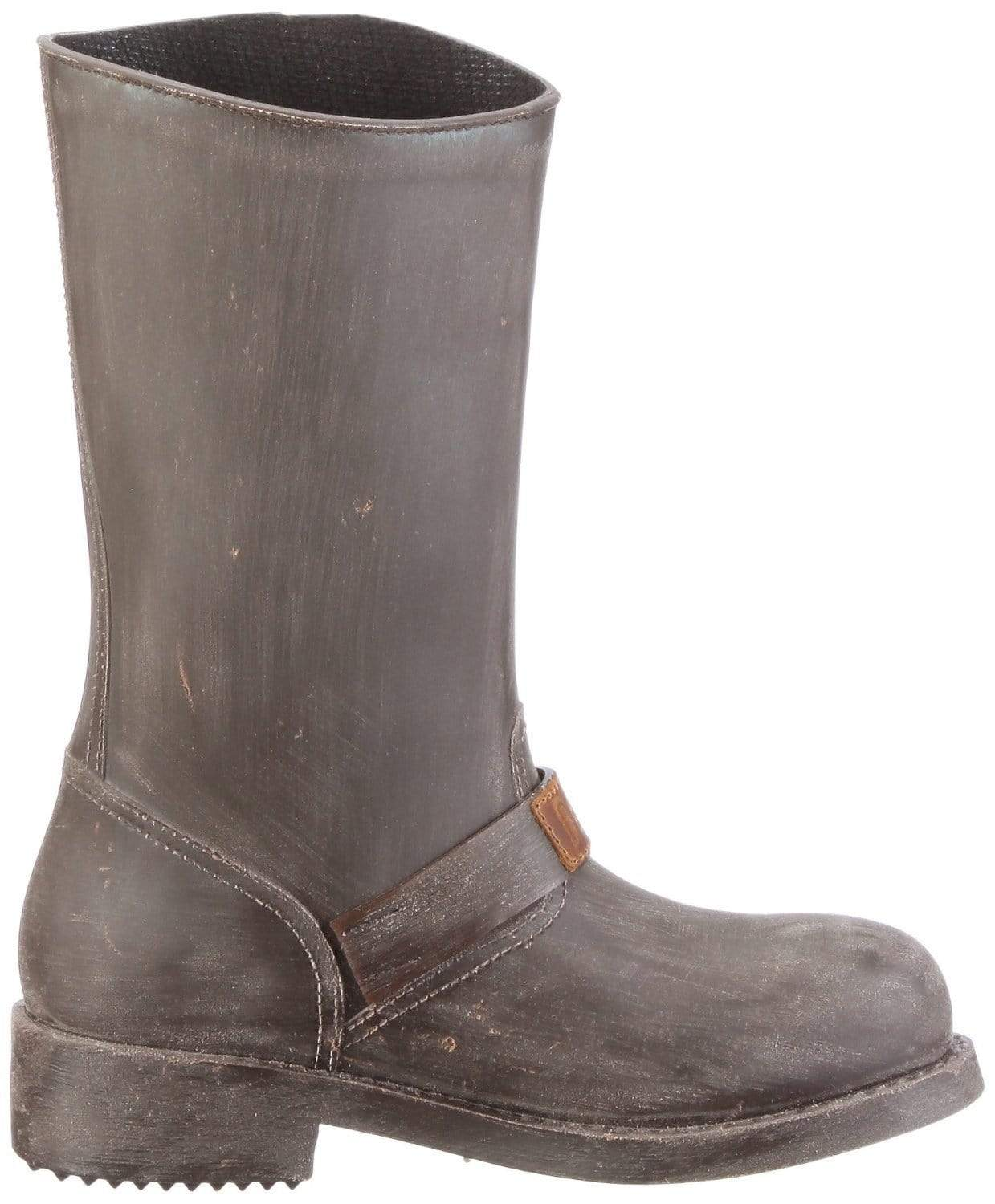 NAT 2 shoe Rugged Prime Biker Rain Boots. Rubber and Recycled Leather. sustainable fashion ethical fashion