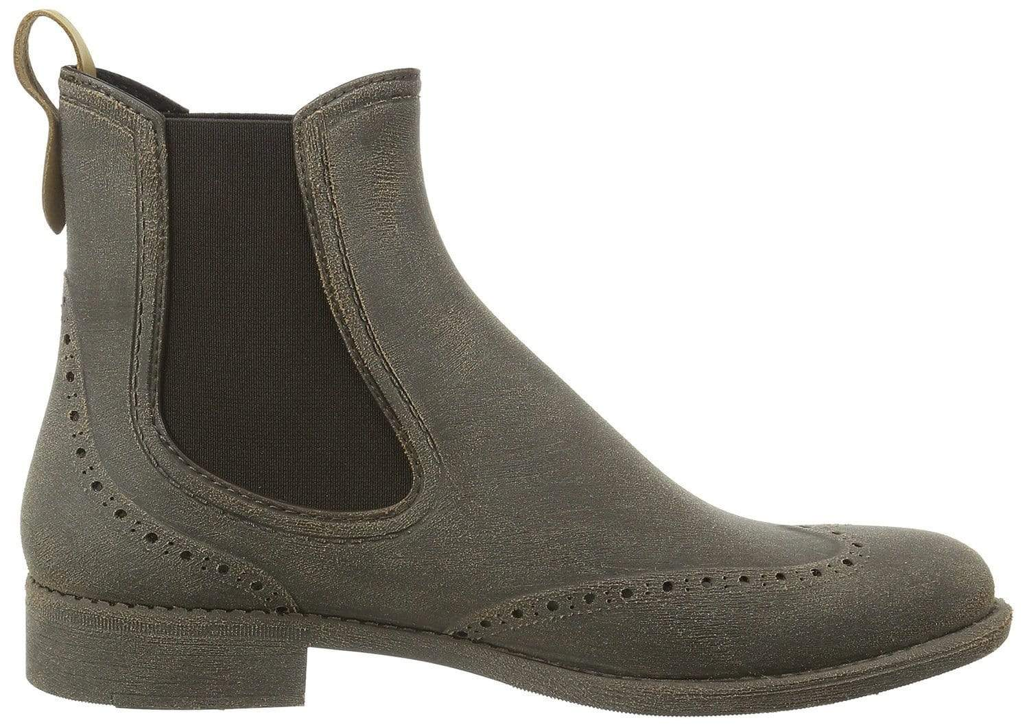 NAT 2 shoe Rugged Prime Chelsea Rain Boots. Rubber and Recycled Leather. sustainable fashion ethical fashion