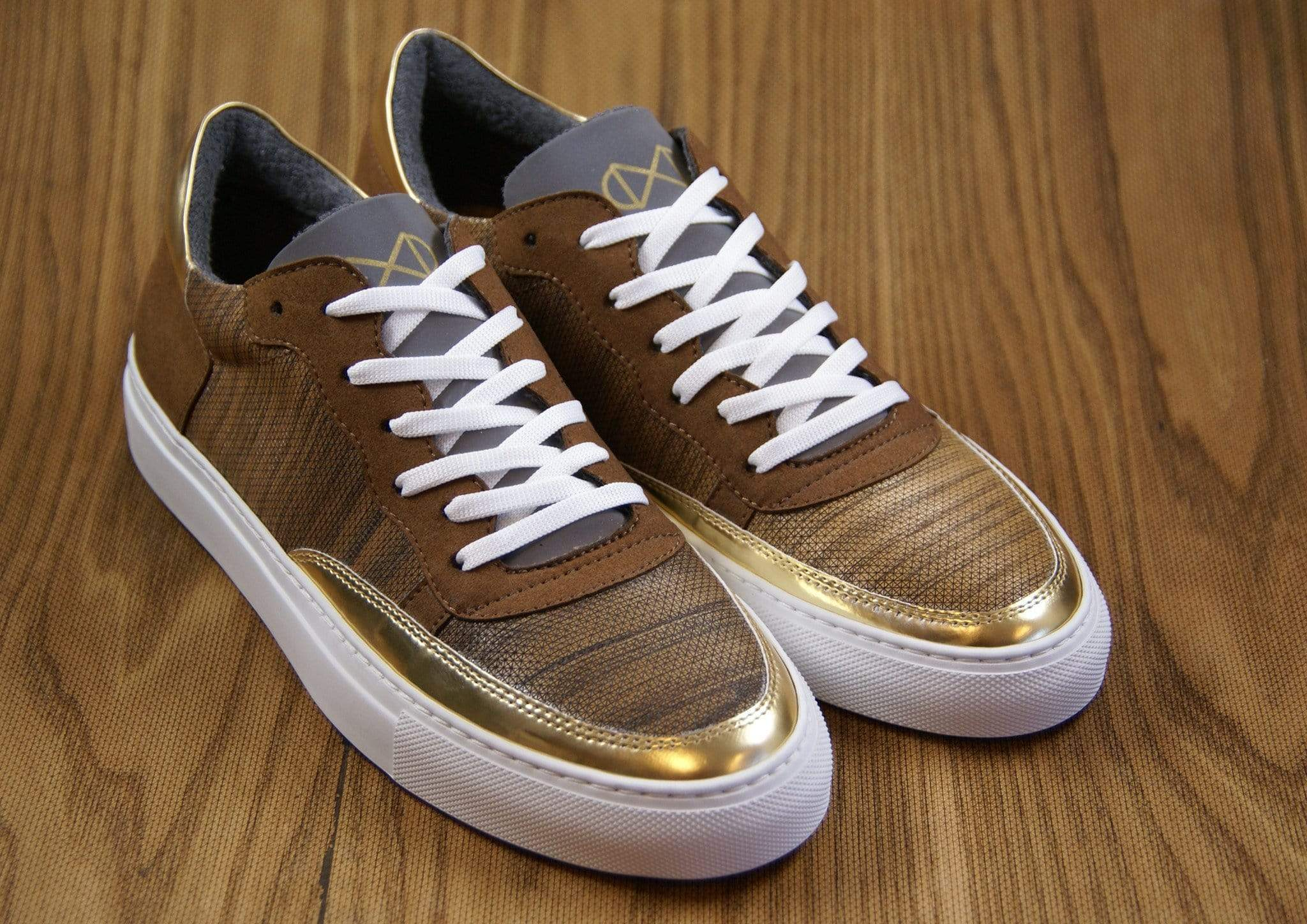 NAT 2 shoe Wood Sneakers. Real Wood, Reflective Glass and Mircofiber from Recycled PET. sustainable fashion ethical fashion