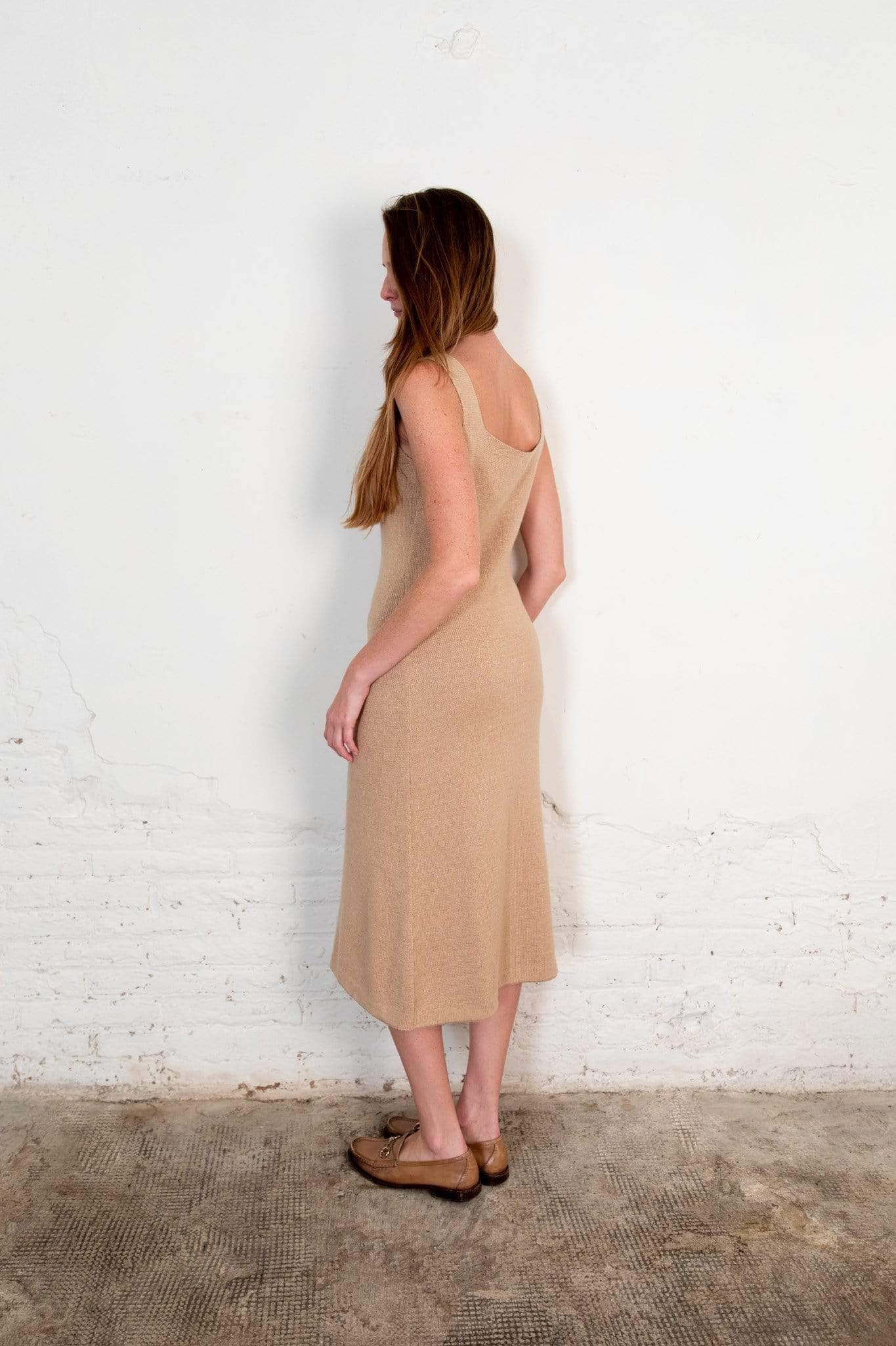 Nordic Leaves dress Pevic Dress. Organic Cotton. sustainable fashion ethical fashion