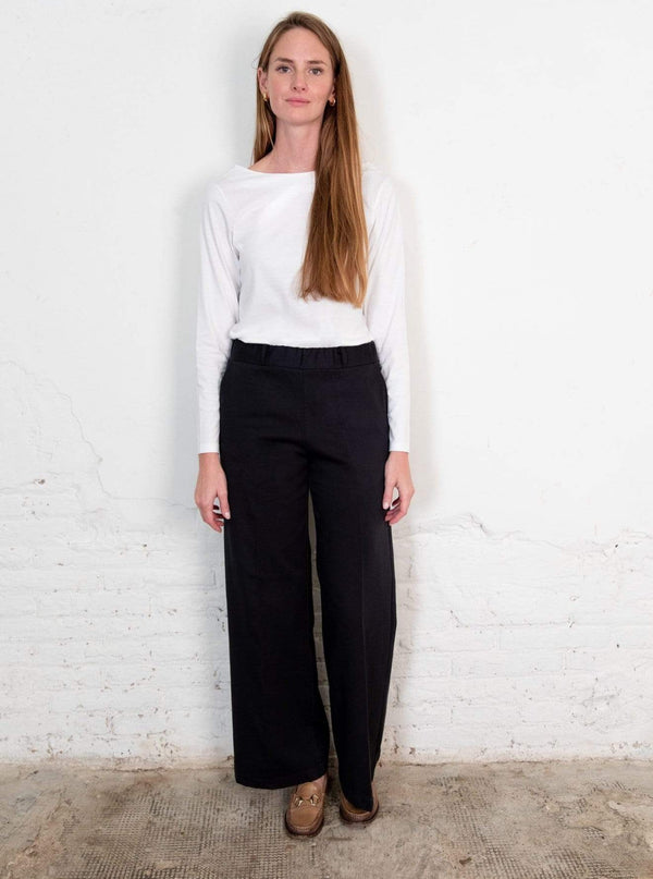 Nordic Leaves pant Lamad Trousers in Organic Cotton. sustainable fashion ethical fashion