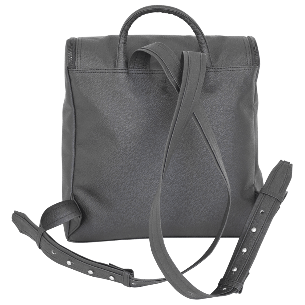 nuuwaï bags Kim Vegan Backpack in Apple Leather and Recycled Polyester. sustainable fashion ethical fashion