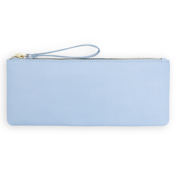 NUUWAÏ UG bags Maia Pencil Case in Apple Leather and Ocean PET Waste. sustainable fashion ethical fashion