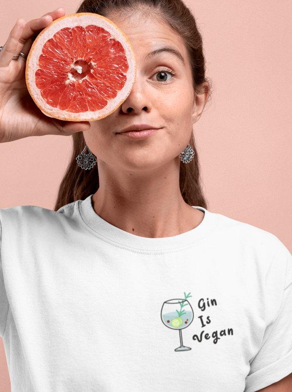 OATMILKCLUB Stanley / Stella Creator - DTG Gin is Vegan - T-shirt en coton bio mode durable mode éthique