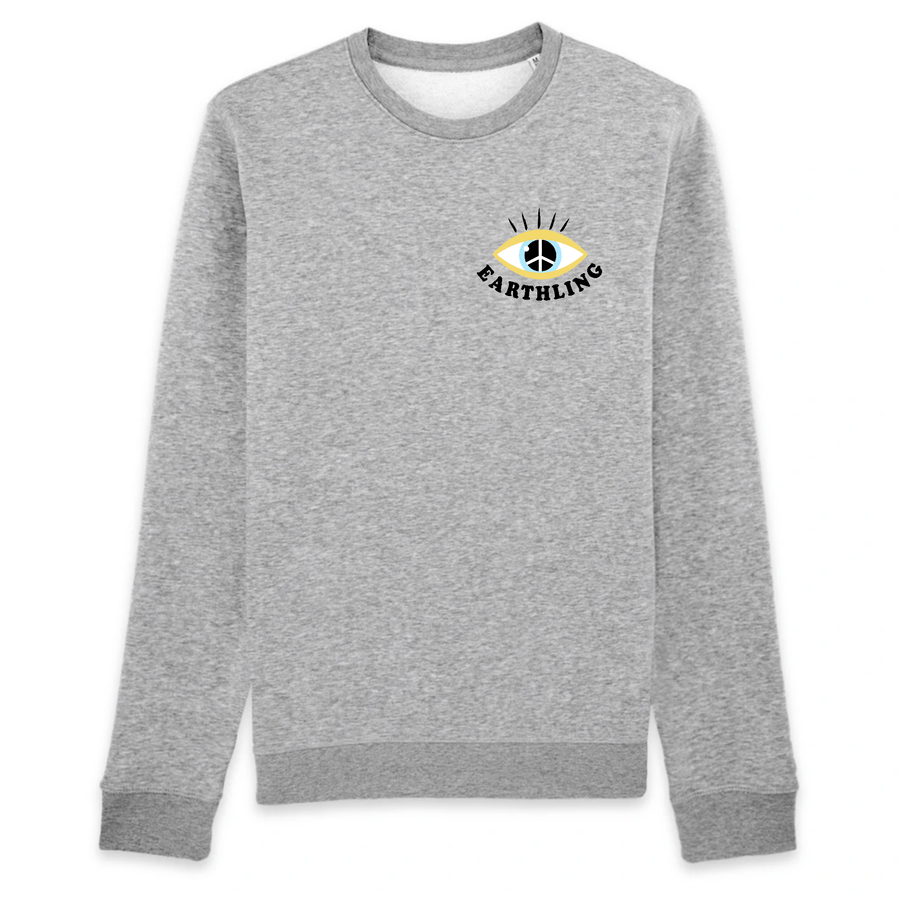 OATMILKCLUB Sweat-shirt - Rise - Stanley - DTG Earthling - Sweat-shirt en coton bio mode durable mode éthique