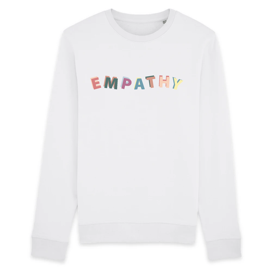 OATMILKCLUB Sweat-shirt - Rise - Stanley - DTG Empathy - Sweat-shirt en coton bio mode durable mode éthique
