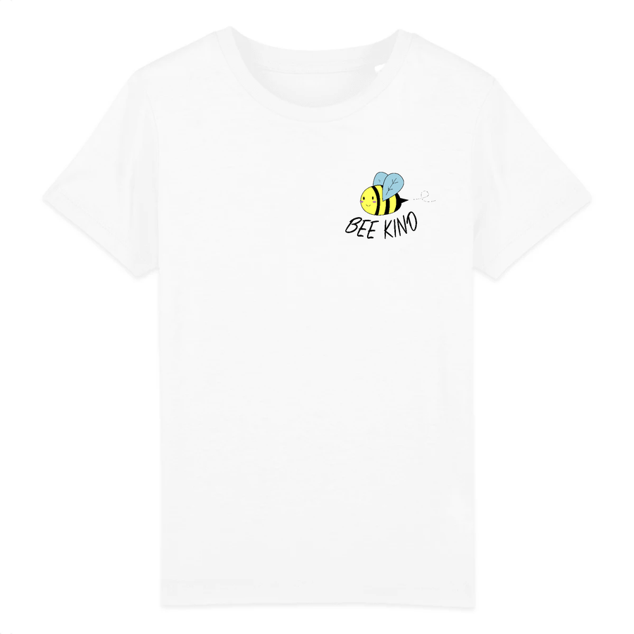 OATMILKCLUB tops Bee Kind Tee in Organic Cotton sustainable fashion ethical fashion