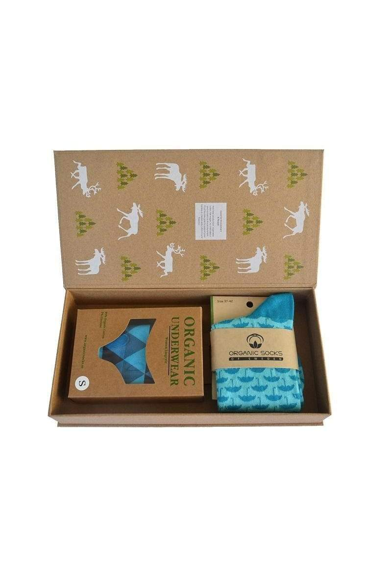 Organic Socks of Sweden sock Lady Box. Organic Cotton. sustainable fashion ethical fashion
