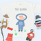 "Pamboo Piggy Dreaming T-Shirt Set ""PIggy Dreaming"" inkl. 5 Sticker sustainable fashion ethical fashion"
