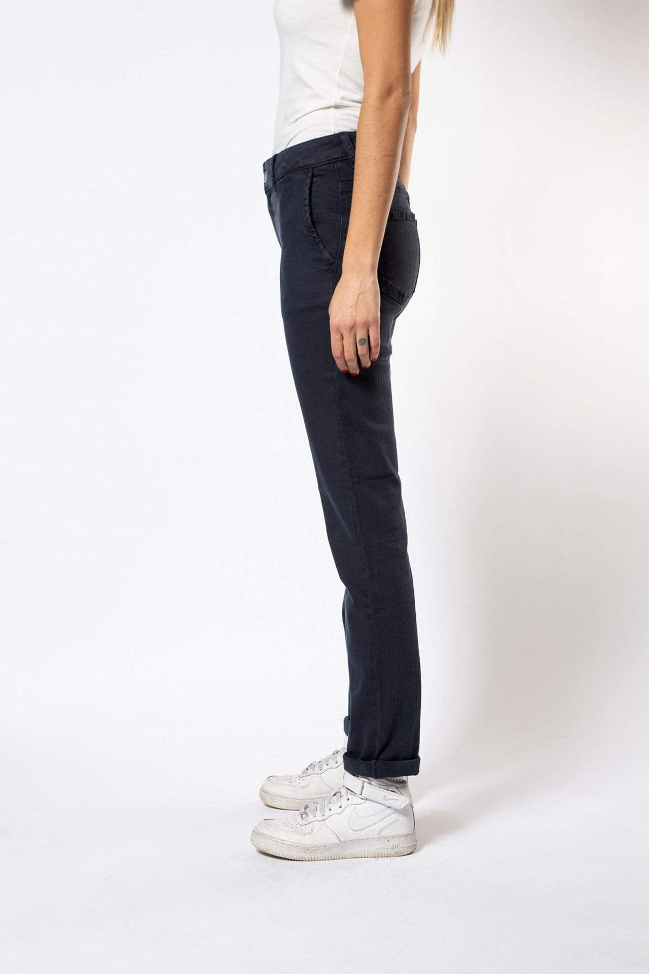 Par.co Denim pant Primula Jeans in Organic Cotton. sustainable fashion ethical fashion