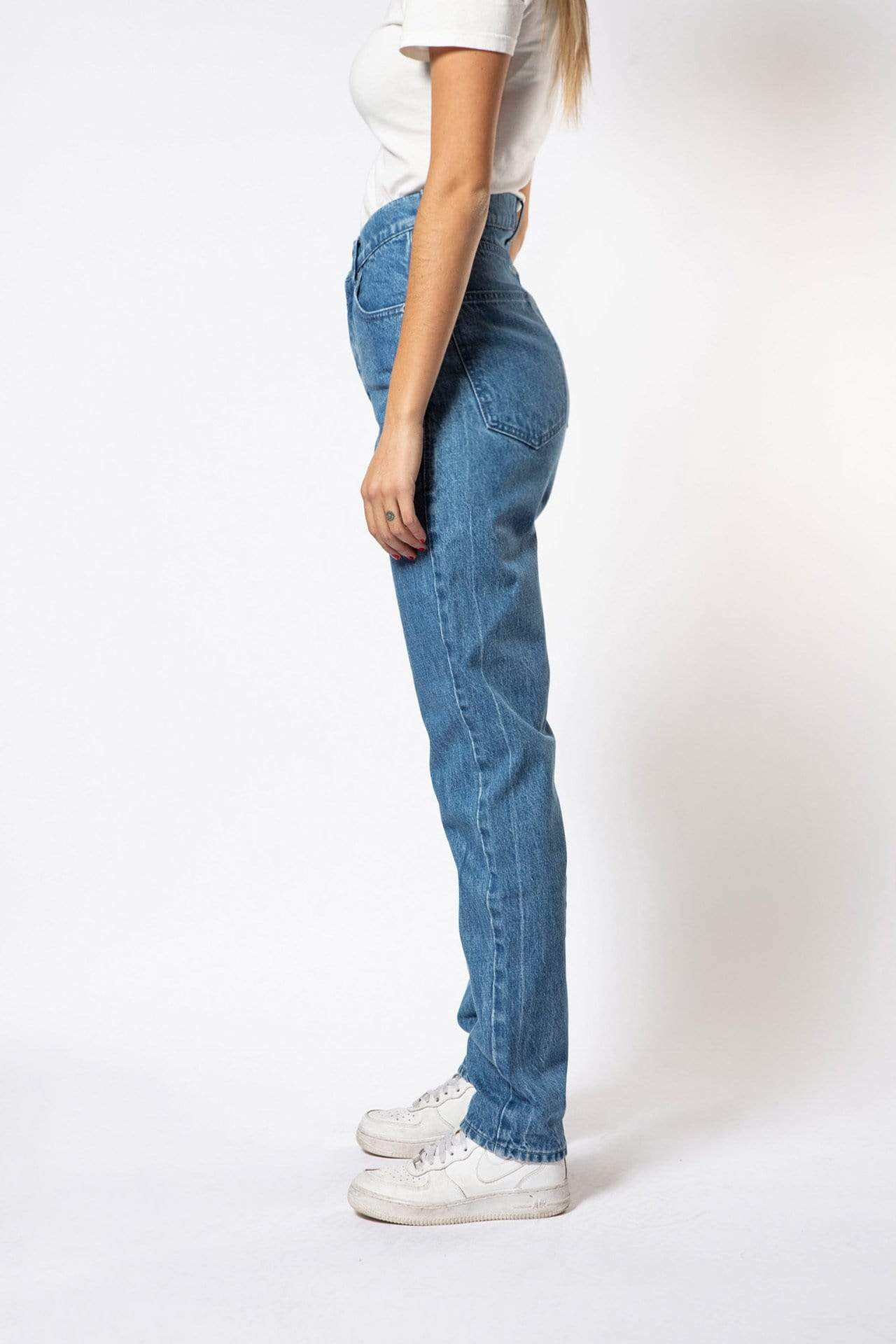 Par.co Denim pant Rosa Jeans in Organic Cotton. sustainable fashion ethical fashion