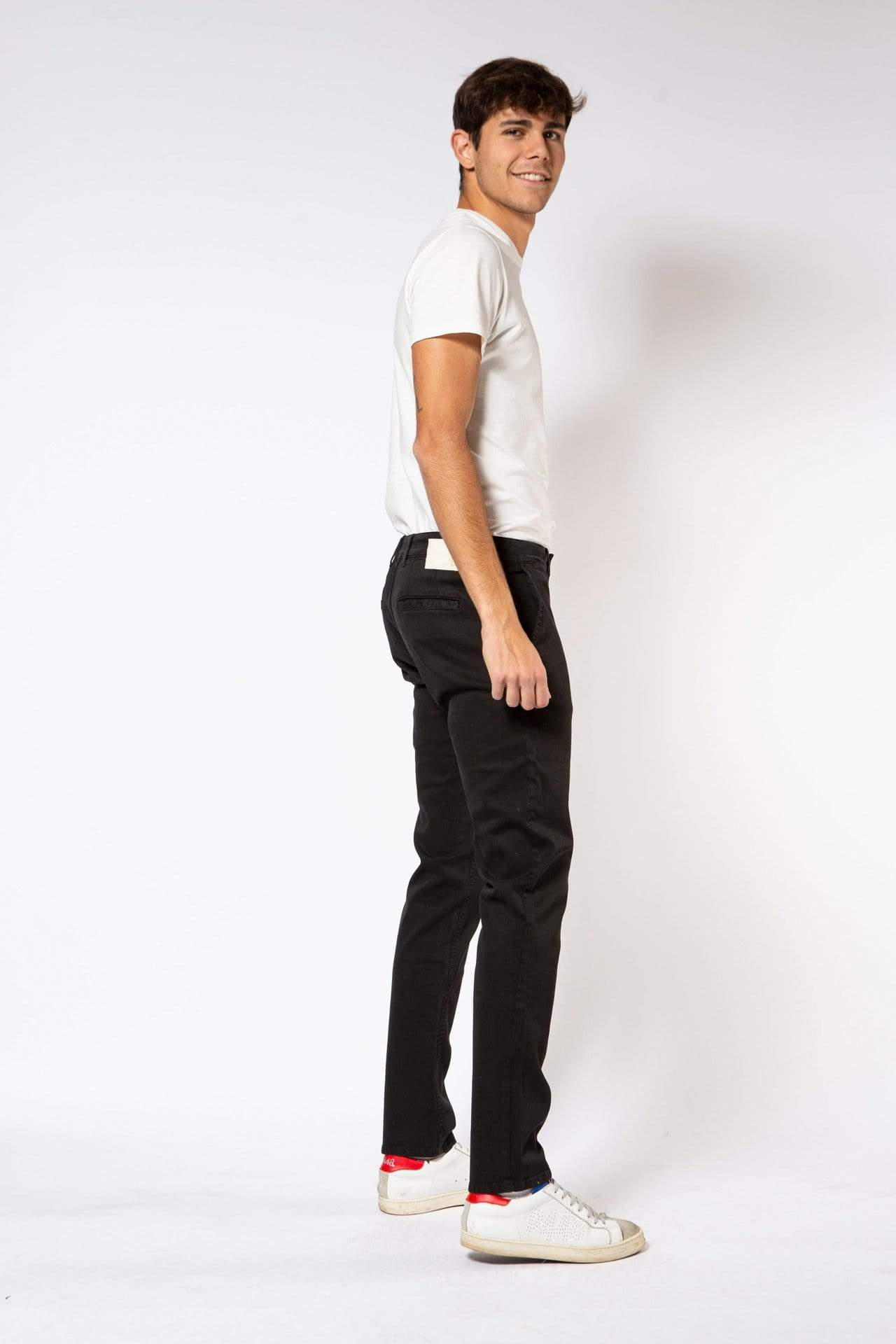 Par.co Denim pant Salice Chino in Organic Cotton. sustainable fashion ethical fashion