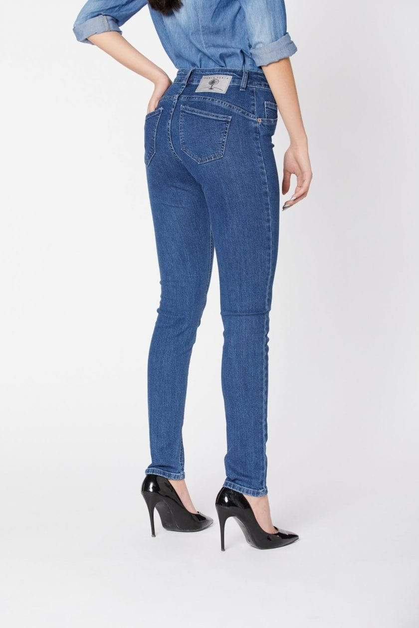 Par.co DENIM Woman Giglio Skinny Jeans sustainable fashion ethical fashion