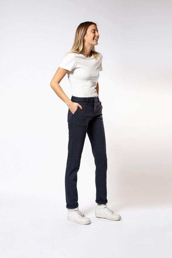 Par.co DENIM Femme Primula Straight Jeans mode durable mode éthique