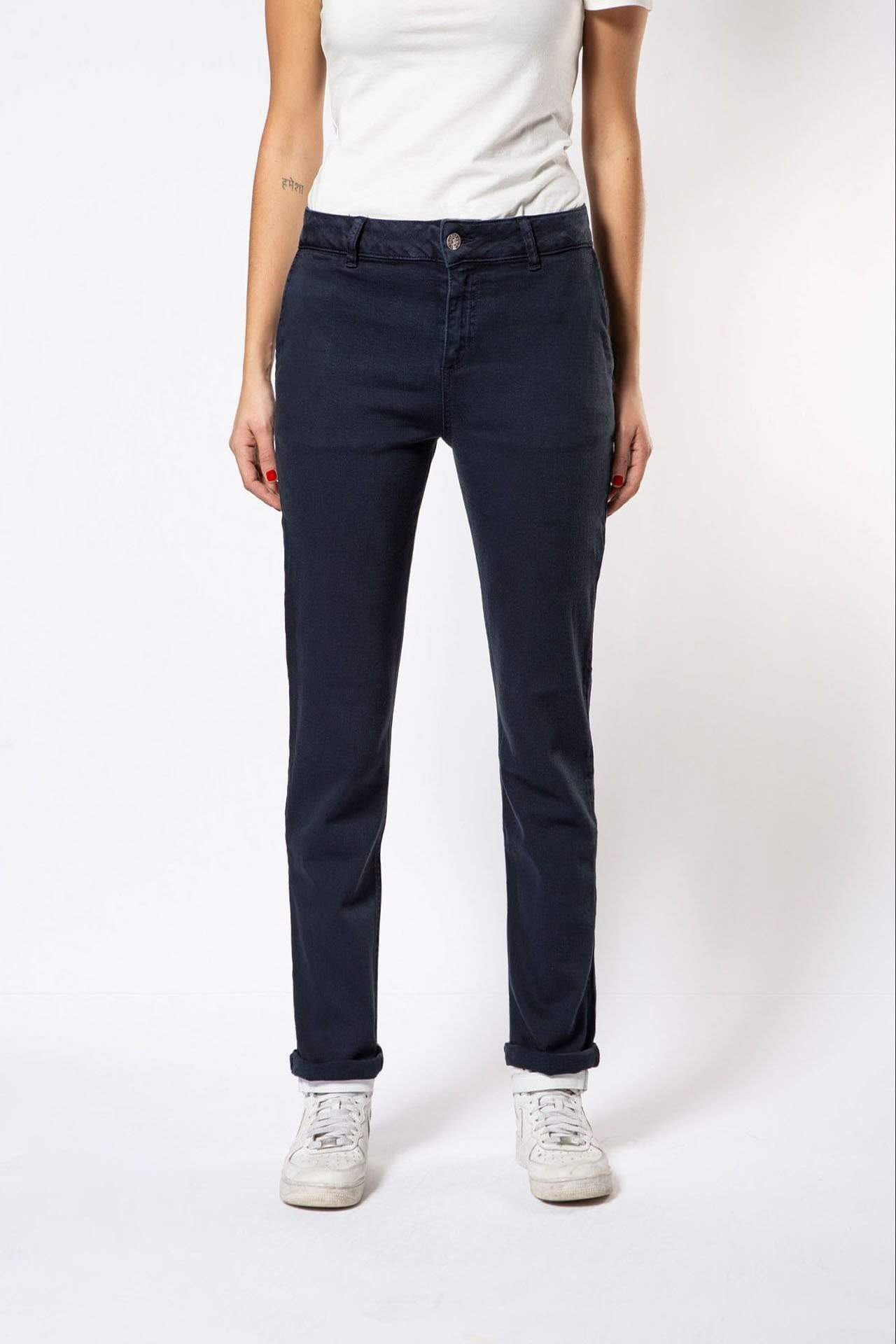 Par.co DENIM Woman Primula Straight Jeans sustainable fashion ethical fashion