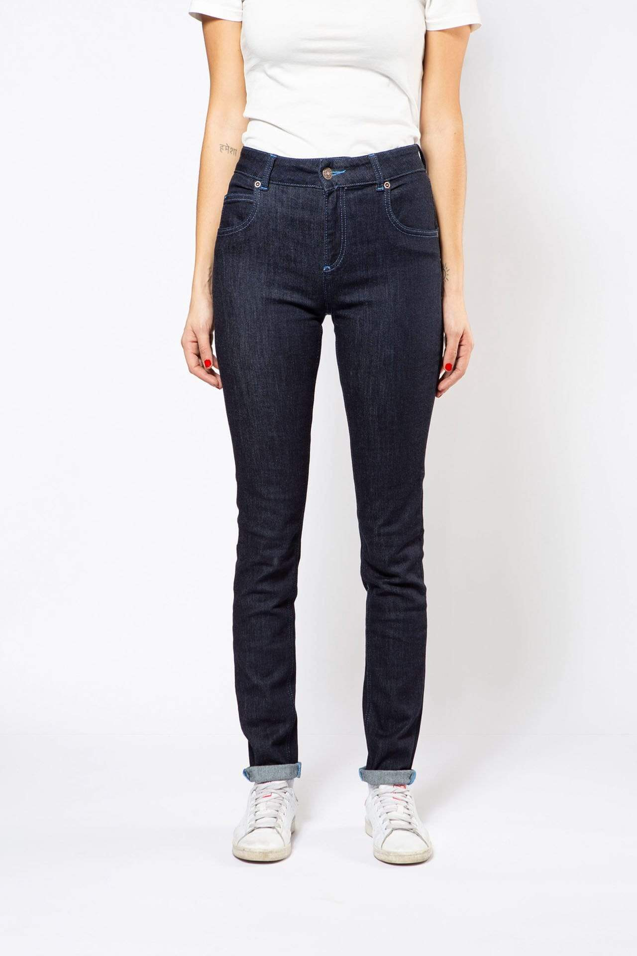 Par.co DENIM Woman Violetta Skinny Jeans sustainable fashion ethical fashion