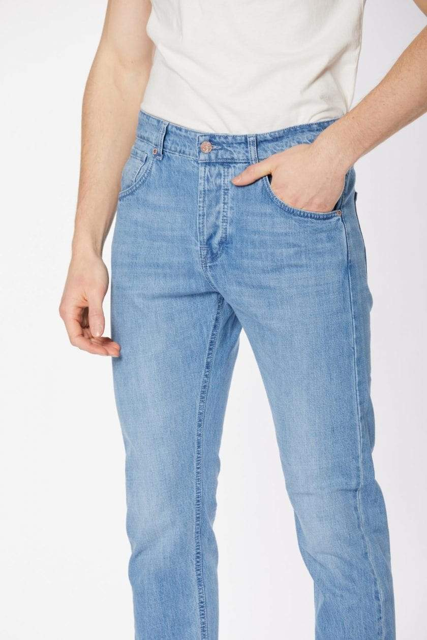 Par.co Fashion SRL pants Gelso Loose Jeans in Organic Cotton. sustainable fashion ethical fashion