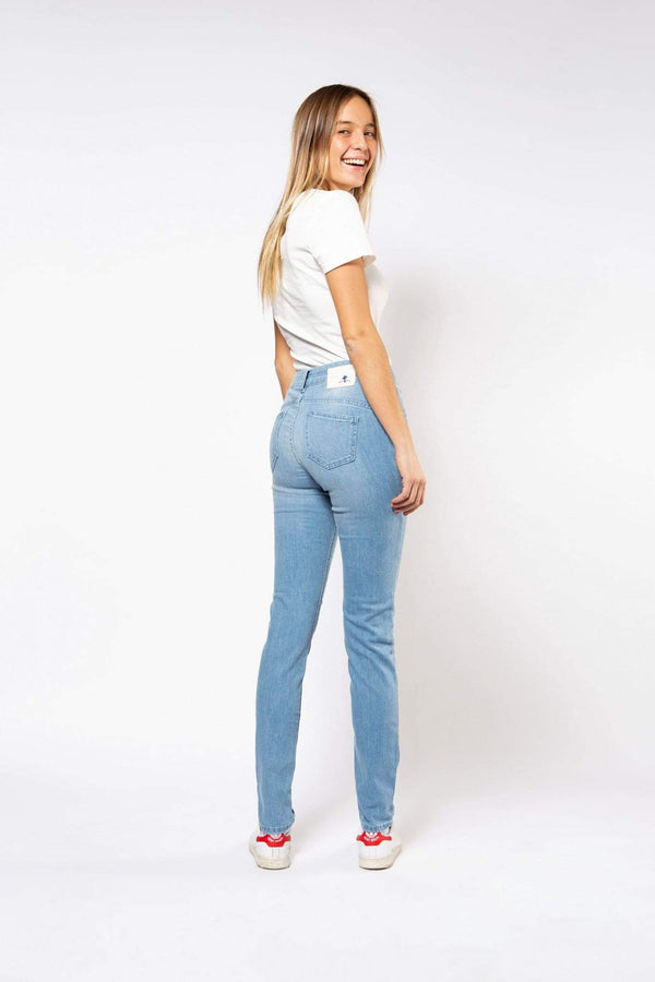 Par.co Fashion SRL pants Glicine Skinny Jeans in Organic Cotton. sustainable fashion ethical fashion