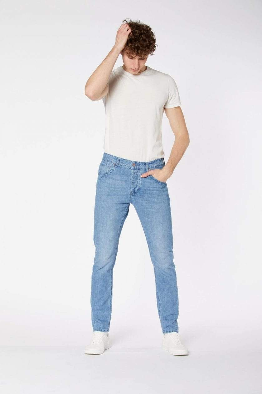 Par.co Fashion SRL pants Light / 30 Gelso Loose Jeans in Organic Cotton. sustainable fashion ethical fashion