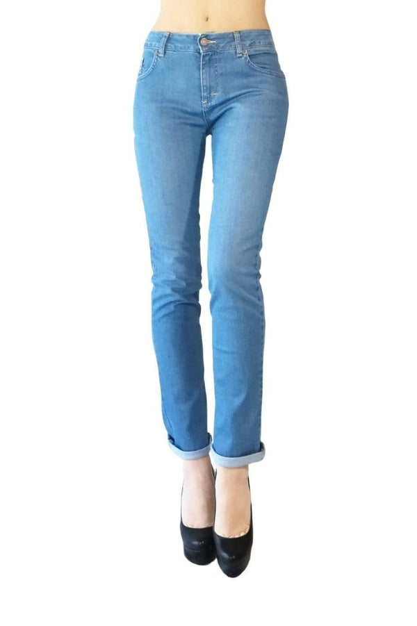 Par.co Fashion SRL pants Passiflora Jeans in Organic Cotton. sustainable fashion ethical fashion