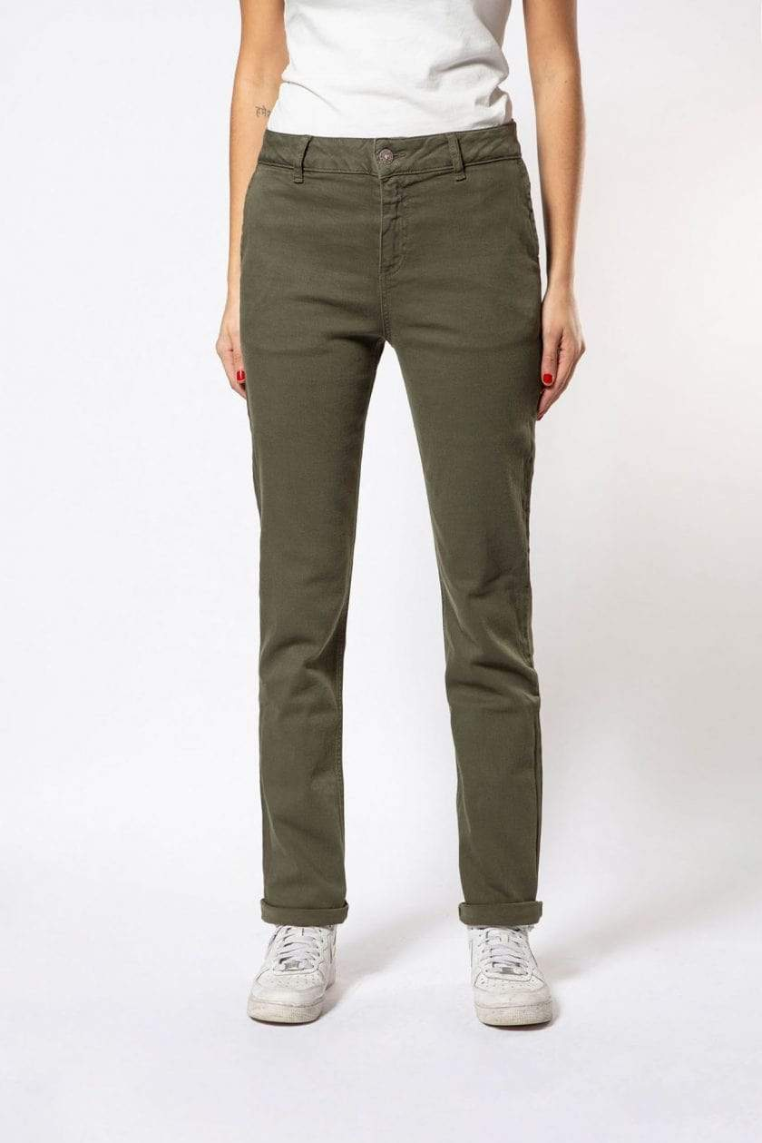 Par.co Fashion SRL pants Primula Straight Jeans in Organic Cotton. sustainable fashion ethical fashion