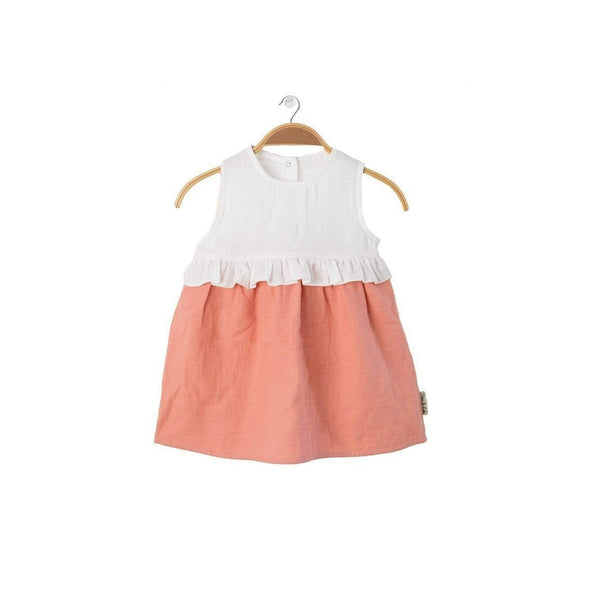 PETER JO abiti Dress Lollipop Peach moda etica moda sostenibile